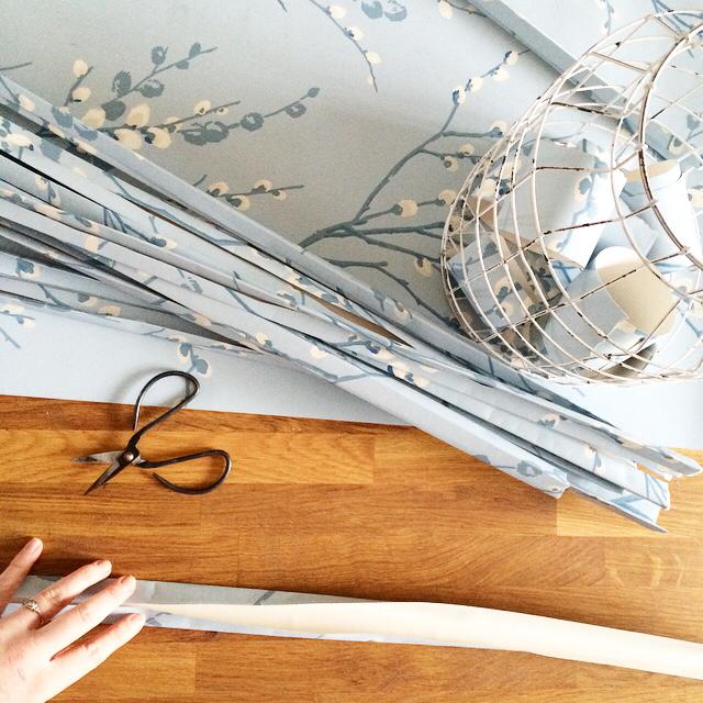 Laura Ashley Pussywillow Wallpaper {seaspray}