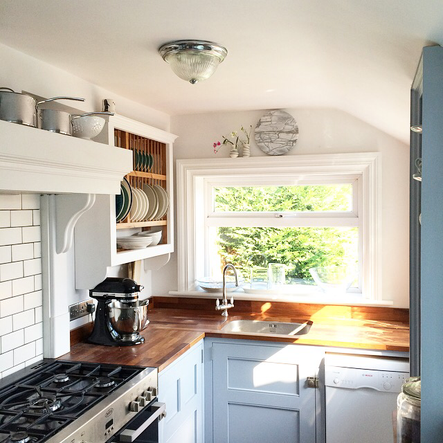 廚房設計風格:英式鄉村風格 室內設計知識家