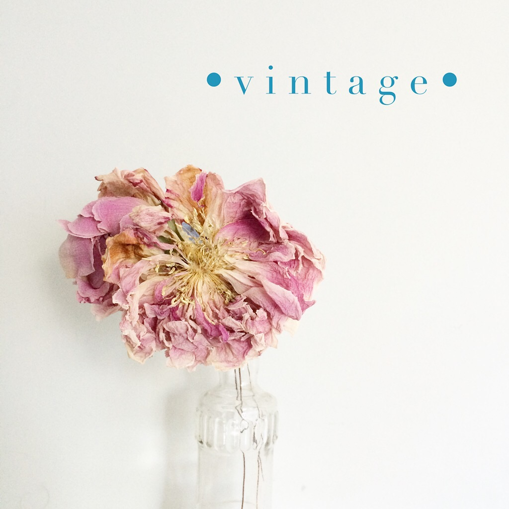DIY vintage flowers: fridge dried flowers