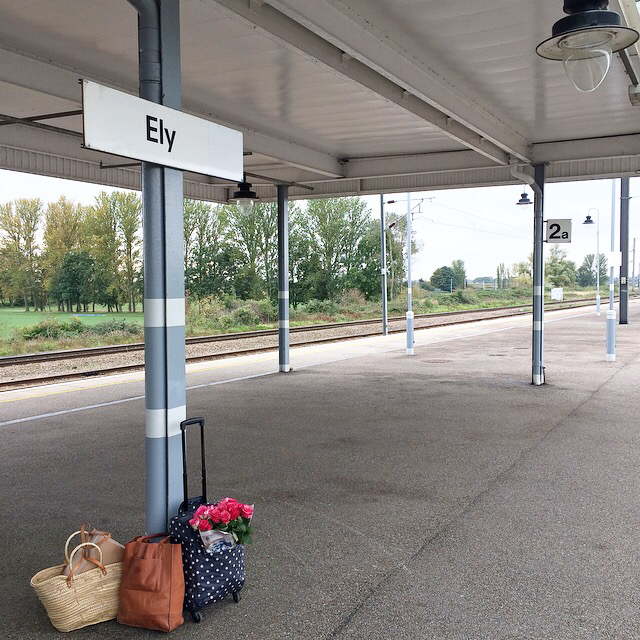 cath kidston suitcase ely station